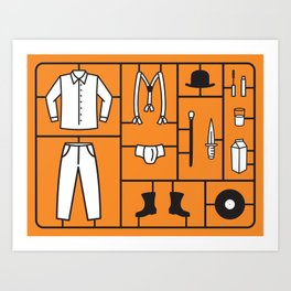 Clockwork Kit Art Print