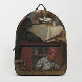 Richard Norris Brooke A Pastoral Visit 1881 Painting Backpack