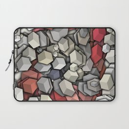 Chaotic 3D Cubes Laptop Sleeve