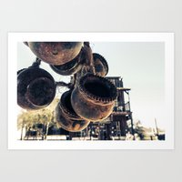 Ghost Town Antiques Art Print