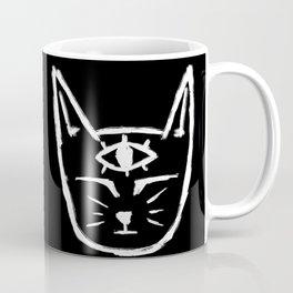 Third Eye Cat Coffee Mug