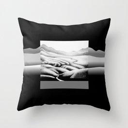 Gouland Downs 1 Throw Pillow