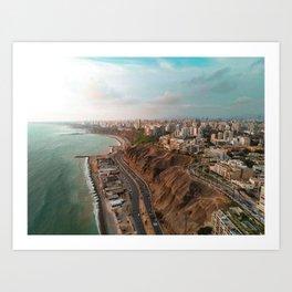Lima in Peru Art Print