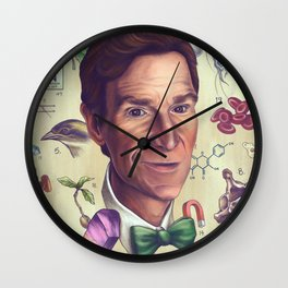 The Science Guy Wall Clock