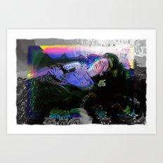 OPHELIA IN WONDERLAND Art Print