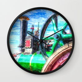 Clayton And shuttleworth Art Wall Clock