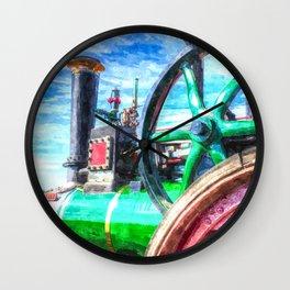Clayton And shuttleworth Art Wall Clock