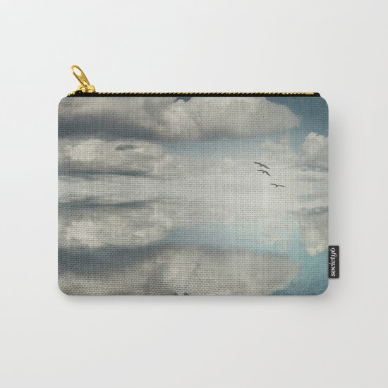 Spaces II - Sea of Clouds Carry-All Pouch