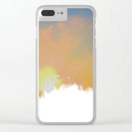 Sunset Lake Murray, La Mesa, California (Copyright) Clear iPhone Case