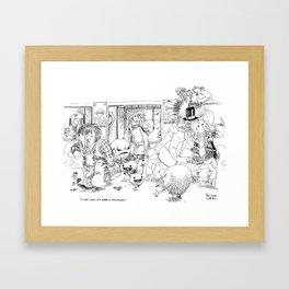 Correspondance / Translation Framed Art Print