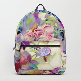 summery floral Backpack