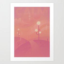 Relax - CALM Art Print