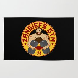 Zangief's Gym Rug