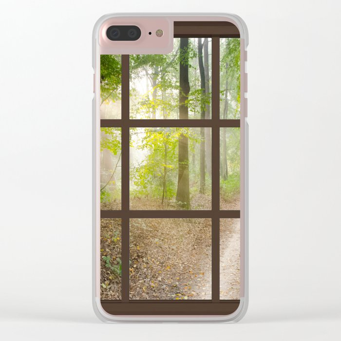 Tree Tapestries Style Clear iPhone Case