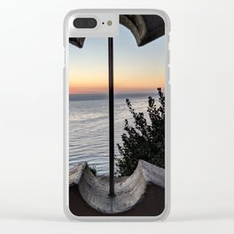 San Pedro Altered View Clear iPhone Case