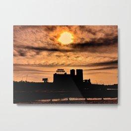 Farine Five Roses in Blazing Sunshine Metal Print