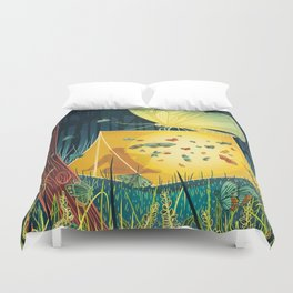 Moth Duvet Cover