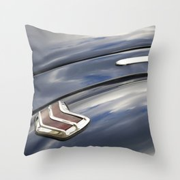 1940 Ford Deluxe Business Coupe Throw Pillow