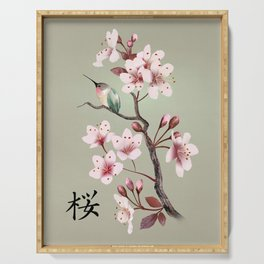 Sakura Serving Tray