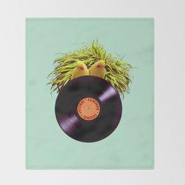 Summer Sound System Throw Blanket