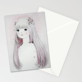 Sakura Maiden Stationery Cards