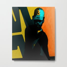 Chance The Rapper Hip Hop Metal Print