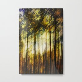 Forest of Surrealism Metal Print