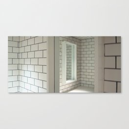 Tiles & Mirrors Canvas Print