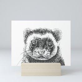 All Is Ferret In Love and War Mini Art Print