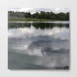 Belle Johnson Lake Park Metal Print