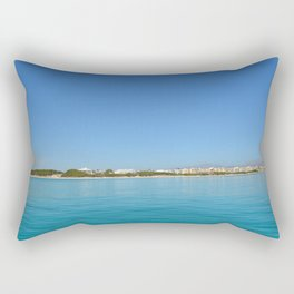 holiday in one paradise island Rectangular Pillow