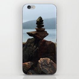 Acadia Cairn iPhone Skin