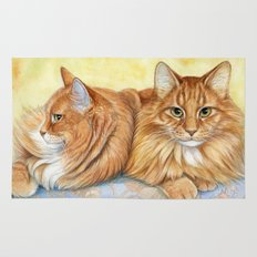 Ginger Cats A085 Rug
