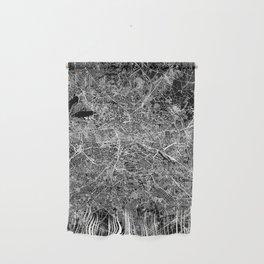 Berlin Black Map Wall Hanging