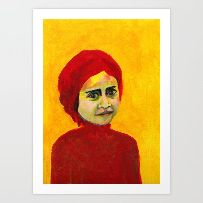 Les petites filles I.39 Art Print