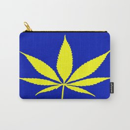 Weed Hash Bash Blue Carry-All Pouch