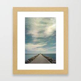 Long way to go Framed Art Print