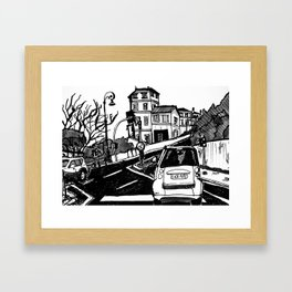 Why don't we do it on the road? Framed Art Print