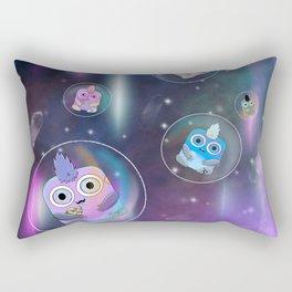 Wondrous & Whimzical Places: Space Bubbles Rectangular Pillow