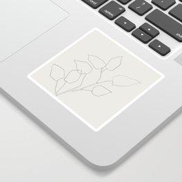 Floral Study no. 5 Sticker