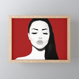 SuperModel Collection Framed Mini Art Print