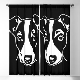 JACK  RUSSELL TERRIER Blackout Curtain