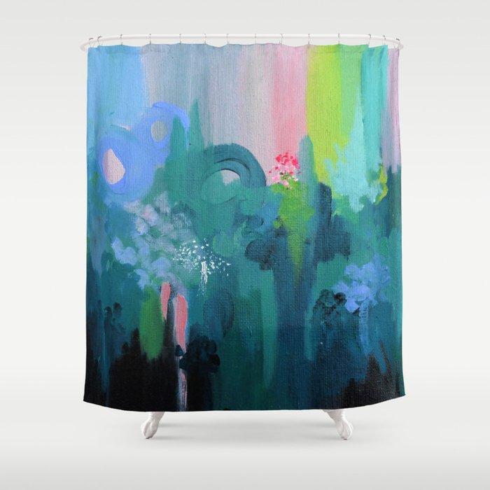 Dreamwalk 2 (variation) Shower Curtain