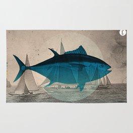 Northern Bluefin Rug