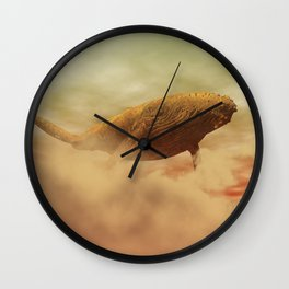 The Rusty Whale Wall Clock