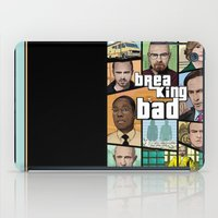 gta iPad Cases featuring Breaking Bad GTA HD  by Akyanyme