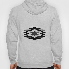Aztec - black and white Hoody