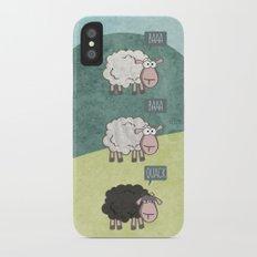 Rebel Sheep iPhone X Slim Case