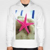 starfish Hoodies featuring STARFISH by habish