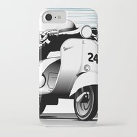 racing iPhone & iPod Cases featuring Racing by Don Paris Schlotman